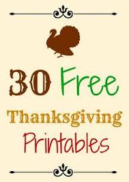 printable thanksgiving decors happy thanksgiving