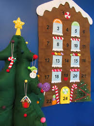 gingerbread house felt advent calendar u2013 a sweet family tradition