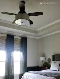 crazy wonderful diy drum shade ceiling fan ceiling fan glass shade