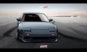 nissan drift cars nissan 200sx s13 alias racing drift car vector by edcgraphic on