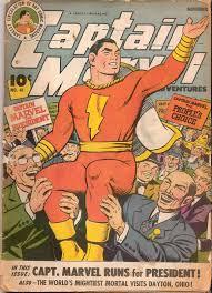 1944 president the comics bin captain marvel for president cma 41 1944