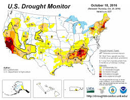 Map Of Southeastern States by Winter Drought Forecast For Much Of U S Climate Central