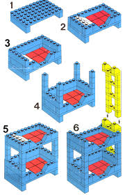 Instructions For Building Bunk Beds by Maxifigure Bunkbed Jessica U0027s Lego Blog