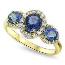 silver and gold engagement rings sapphire ring spirit lake silver and gold