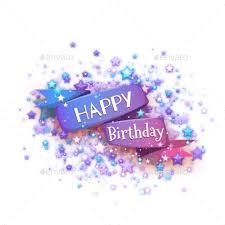 happy birthday ribbon blue ribbon with happy birthday by cattleyaart graphicriver