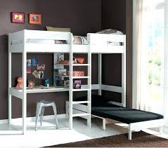 bureau superposé lit superpose combine lit lit mezzanine combine avec bureau qlue co