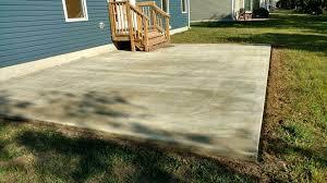 Resurface Concrete Patio Graniflex Project In Lewes Delaware Wilmington Concrete Resurfacing