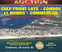 Map Of Gulf Shores Alabama Gulf Shores Auction Oct 10 Chuck Barnes
