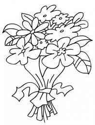 colorear ramo flores colorear dibujos cholo dibujo