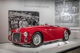 ferrari 125 s seeing red 70 years of ferrari petersen automotive museum