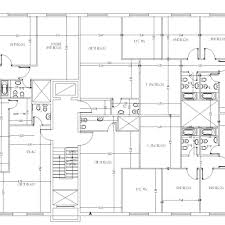 Floor Plans For Apartment Buildings by Apartment Building Design 3 Apartments Floor Cad Files Dwg