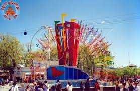 Sixs Flags Nj Fountain Stage At Six Flags Great Adventure