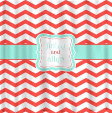 Mint Shower Curtain Coral And Mint Shower Curtain 19 Photos Best Curtains Design 2016