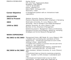 chronological resume template chronological resumes sles order resume exles cv format sle