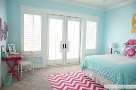 happy bedroom pink and aqua blue preteen girls bedroom