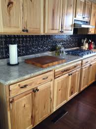 kitchen backsplash with hickory cabinets exitallergy com