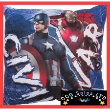 Captain America Bedroom by Official Marvel Captain America Civil War Cushion 6 00