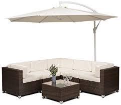 Rattan Garden Furniture Sofa Sets Savannah Rattan Garden Furniture Corner Sofa Set With Glass Top