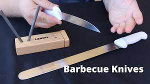 best way to sharpen kitchen knives barbecue knives choosing sharpening and taking care of your bbq