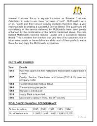 mcdonalds job description resume mcdonalds marketing strategies