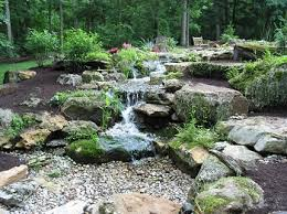 Backyard Pondless Waterfalls by Nature U0027s Re Creations Pondless Waterfall In St Louis