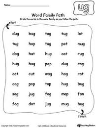 ug word family pack packed full of literacy and spelling games