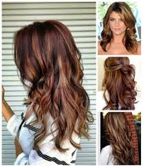 brunette hairstyle with lots of hilights for over 50 rich brown hair color blonde highlights hair colour your