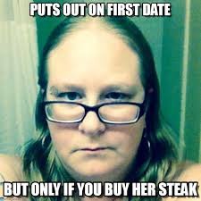 Date Memes - puts out on first date happy girl meme on memegen