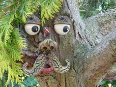tree garden ornament sculpture statue handmade tree