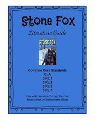 free teaching materials for stone fox great books for 3rd