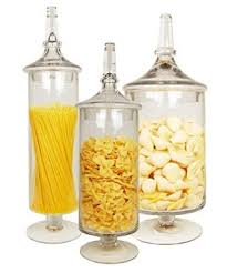 Where To Buy Candy Buffet Jars by Buy Apothecary Jar Straight Candy Buffet Jar With Lid Set Of 3 In