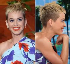 katy perry had to chop off her hair because of too much bleach