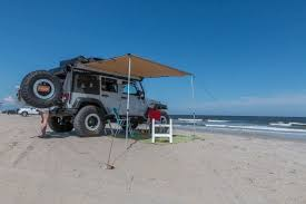 Arb Awning Review 010 009 2007 Jeep Wrangler Unlimited Smittybilt Tent Awning Out