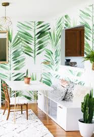 print a wallpaper make your interior pop for summer 2017 with tropical prints