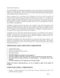 exle cover letters for resumes resumes firefighter cover letter slesume exle start wildland