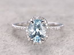 aquamarine and diamond ring aquamarine and diamond ring