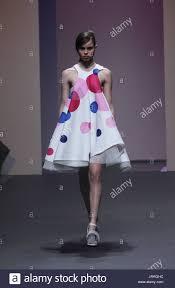 model wearing design by megan edwards melbourne spring fashion