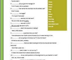 questions intermediate worksheet