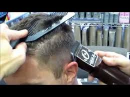 haircut with 12 clippers jason s fade on michael s hair w clippers cut part 1 video