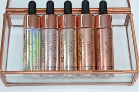 makeup revolution liquid highlighter review u0026 swatches custom fx
