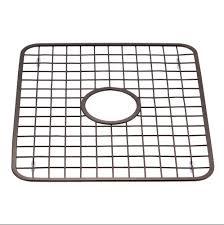 oil rubbed bronze kitchen sinks interdesign kitchen sink grid rack and sponge holder caddy oil