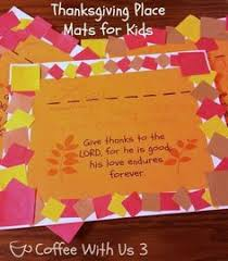 read a story make place mats for thanksgiving thanksgiving