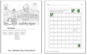 valentine u0027s day theme unit and printables ideas activities