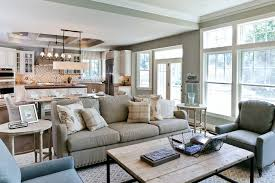 Open Concept Living Room by Open Concept Kitchen Living Room Living Room Contemporary With