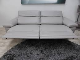Electric Recliner Sofa 3 Seater Leather Electric Recliner Sofa