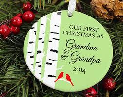 Grandparent Ornaments Personalized Grandparents Ornament Christmas Gift Personalized Photo