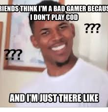 Playing Cod Text Memes Com - riends think itm a bad gamer becaus i dont play cod and itm