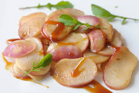 navet cuisine navets au cidre et sauce yakitori cuisine à l ouest