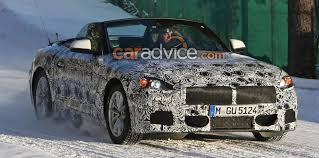 bmw z5 spied top down alongside toyota supra coupe