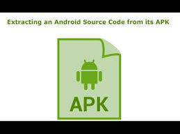 android apk code extracting an android source code from its apk